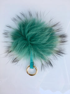 Fox keyring - Green