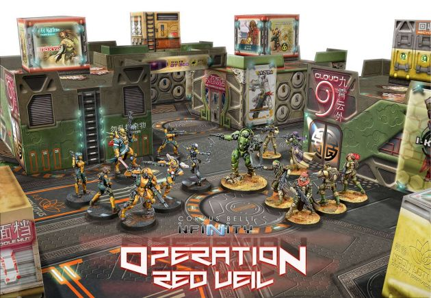 Operation: Red Veil (2 players introductory Battle Pack)