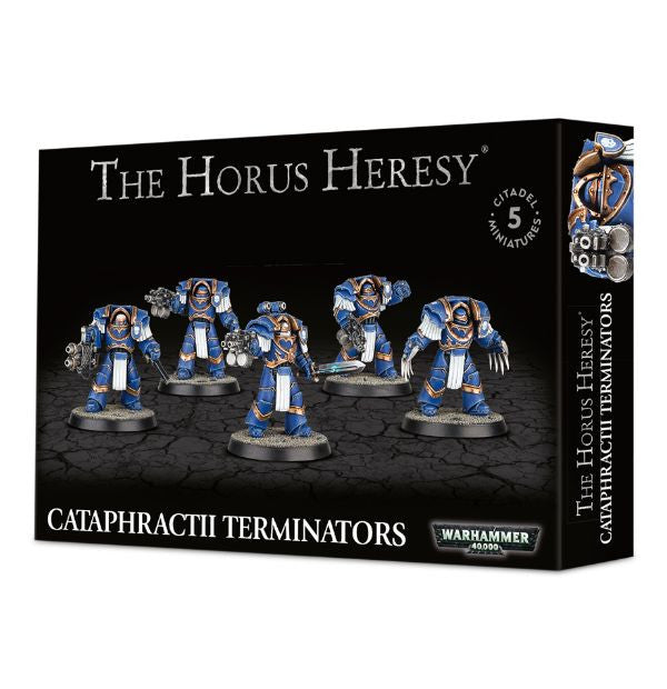 Space Marine Cataphractii Terminators