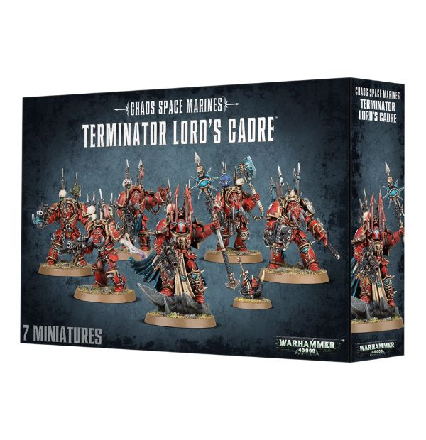 Chaos Terminator Lords Cadre