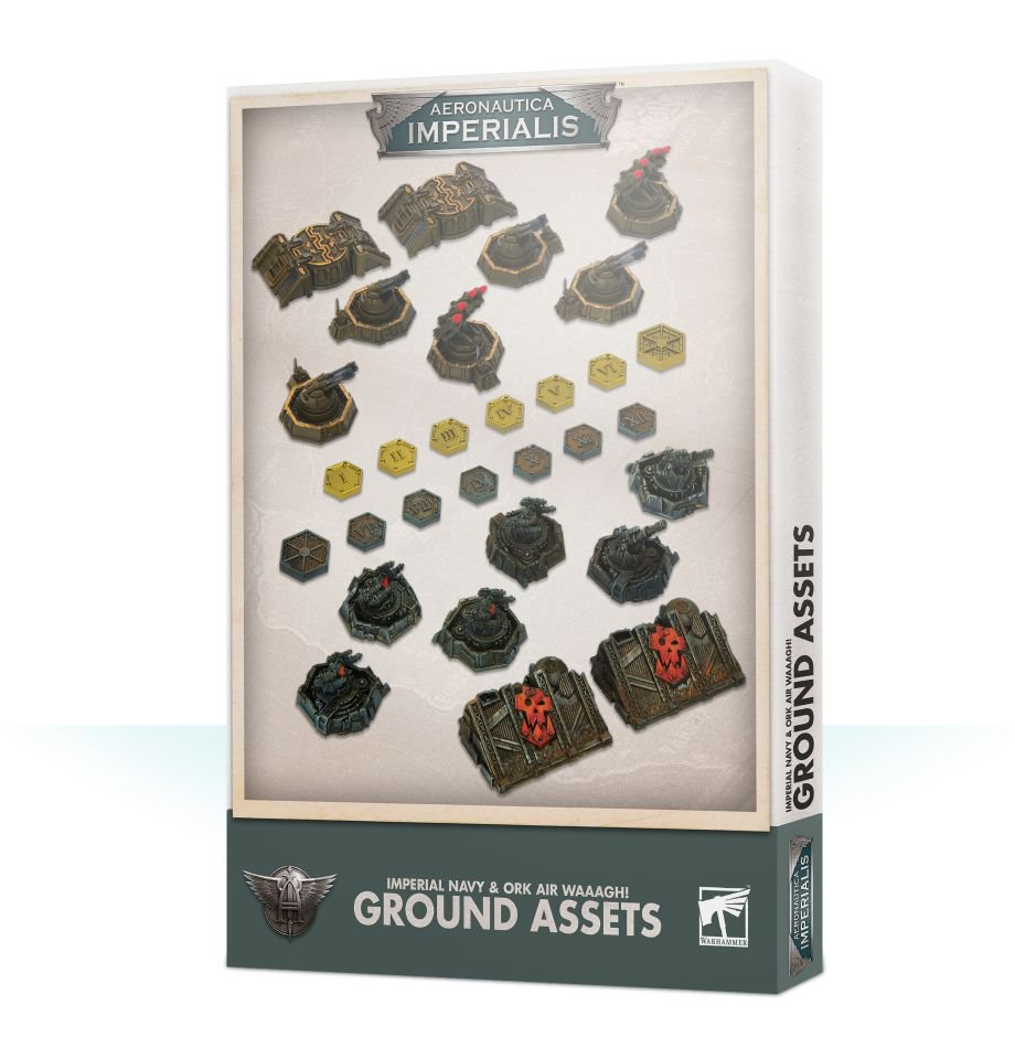 *Aeronautica Imperialis Imperial and Ork Ground Assets