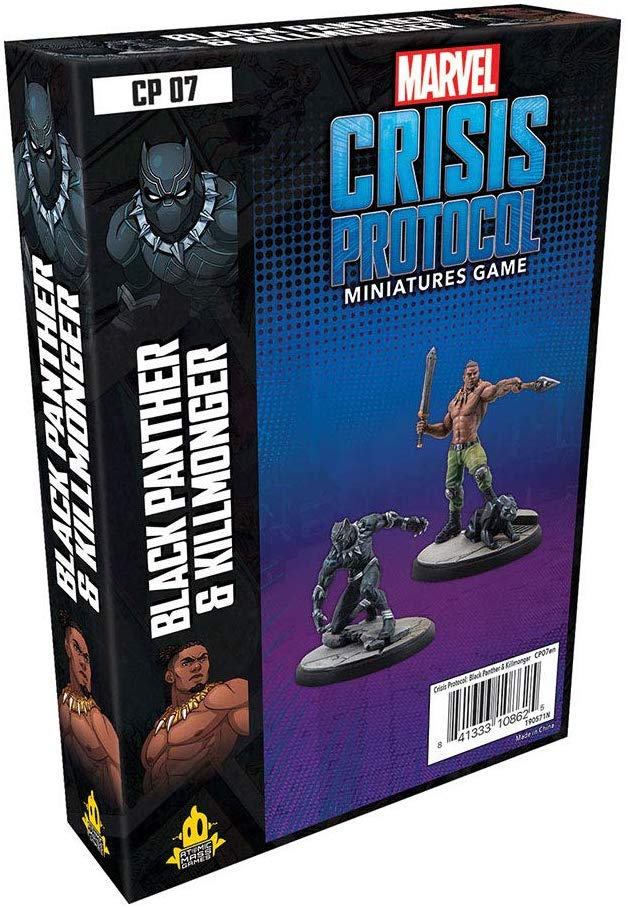 Marvel Crisis Protocol Black Panther & Killmonger Character Pack