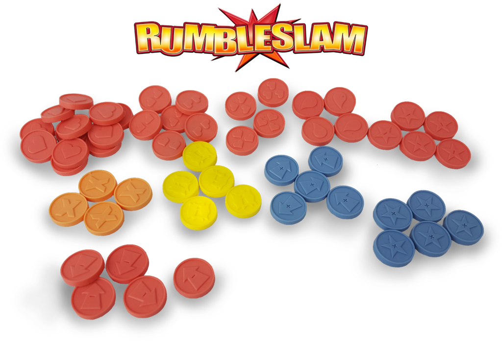 Rumbleslam Deluxe Counters& Tokens