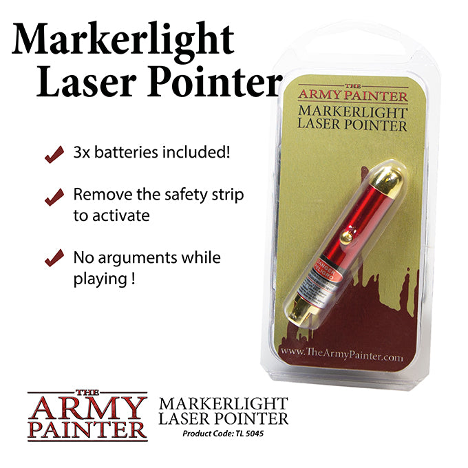 Army Painter Marker light Laser Pointer