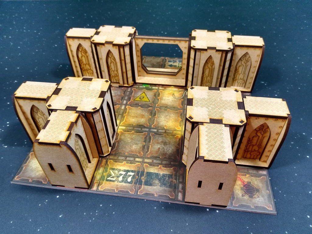 Zone M Terrain Bundle - Necromunda Compatible