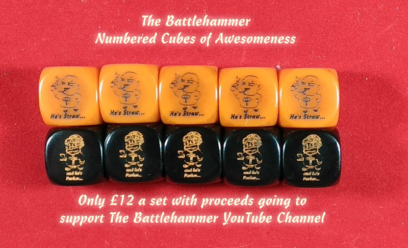 The Battlehammer Numbered Cubes of Awesomeness