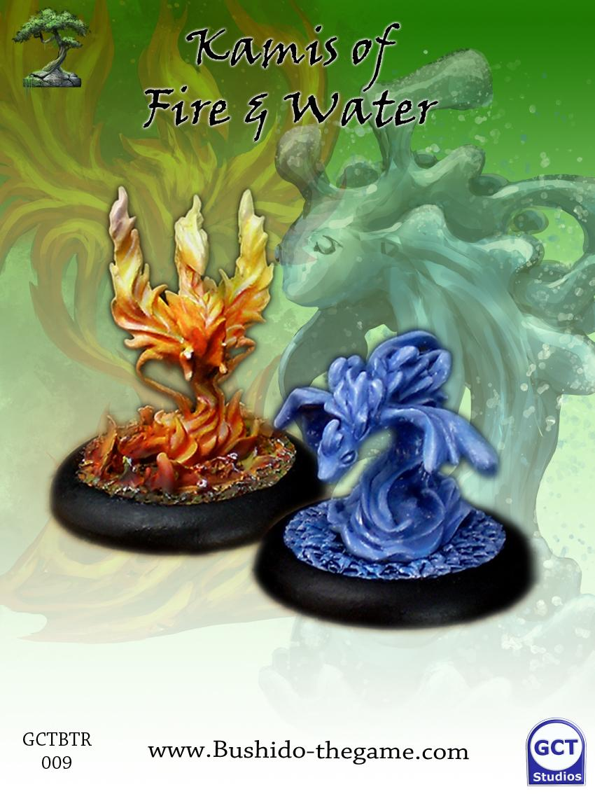 Minor Kami of Fire and Water - Set 1