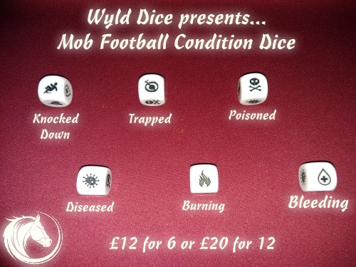 Mob Football Condition Dice