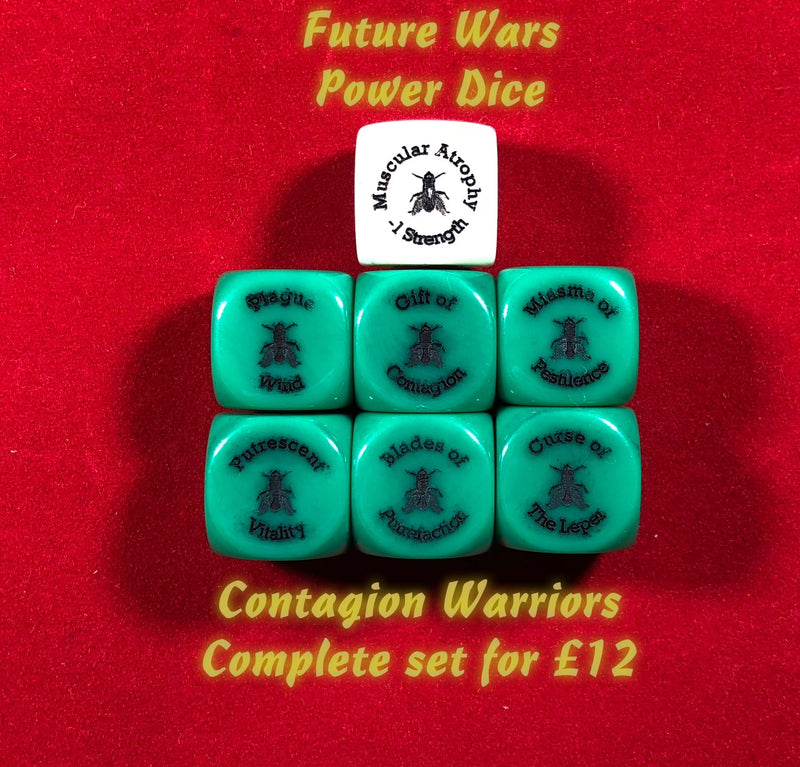 40K Compatible Power Dice