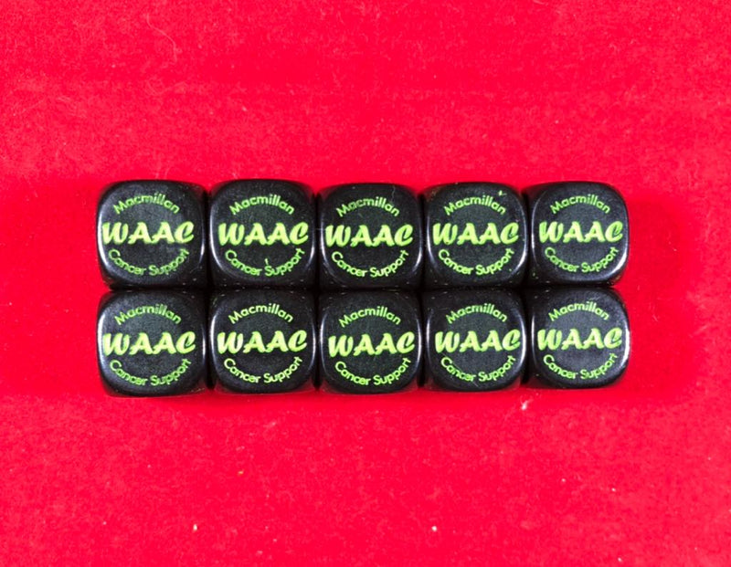 10 WAAC Quarterly Dice