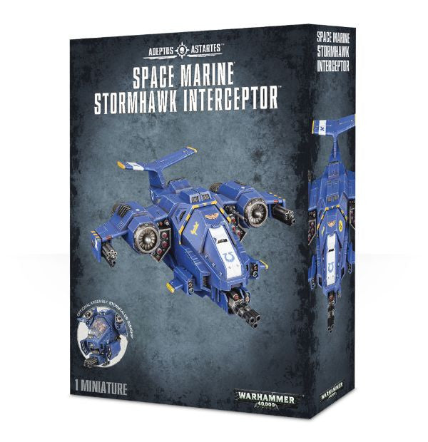 Space Marine Stormhawk Interceptor/Stormtalon Gunship