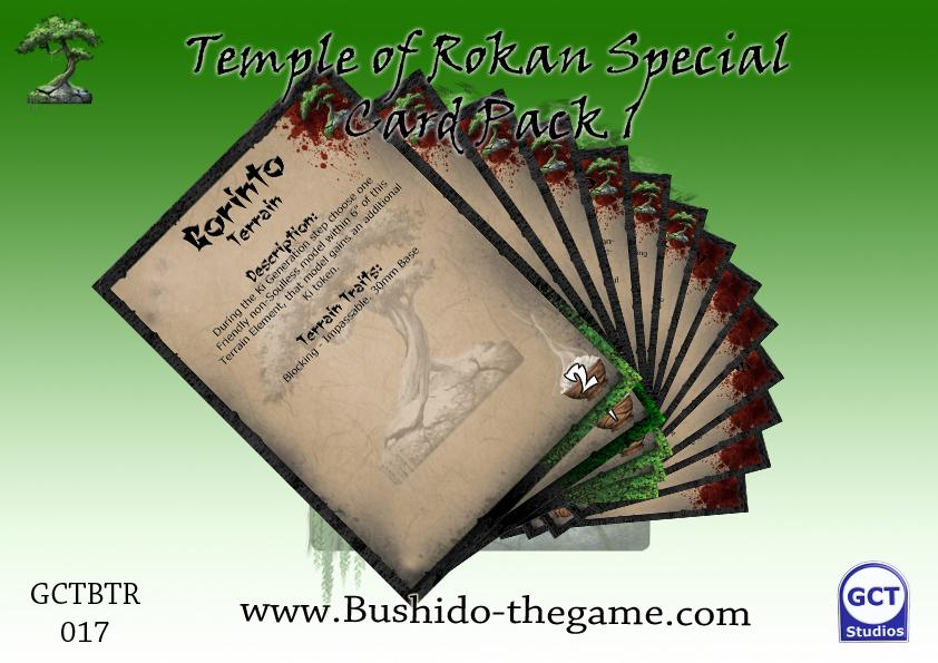 Temple of Ro-Kan Special Card Pack 1