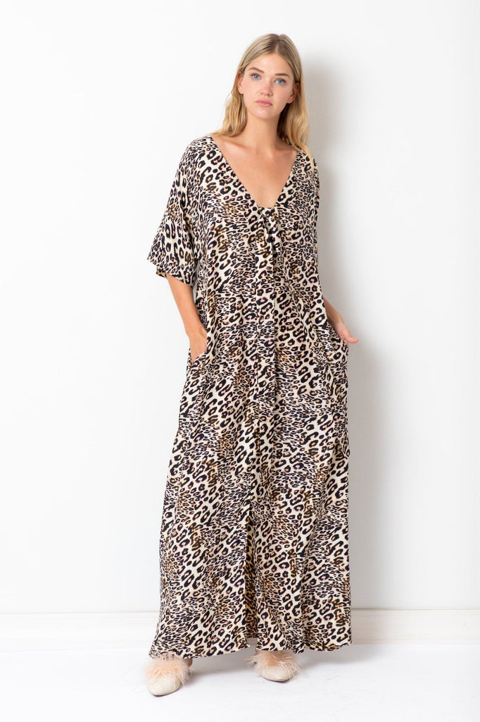 Favourite Silk Tiger Dress Amoralle