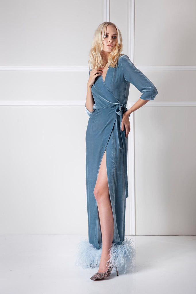 Glacial gown Amoralle