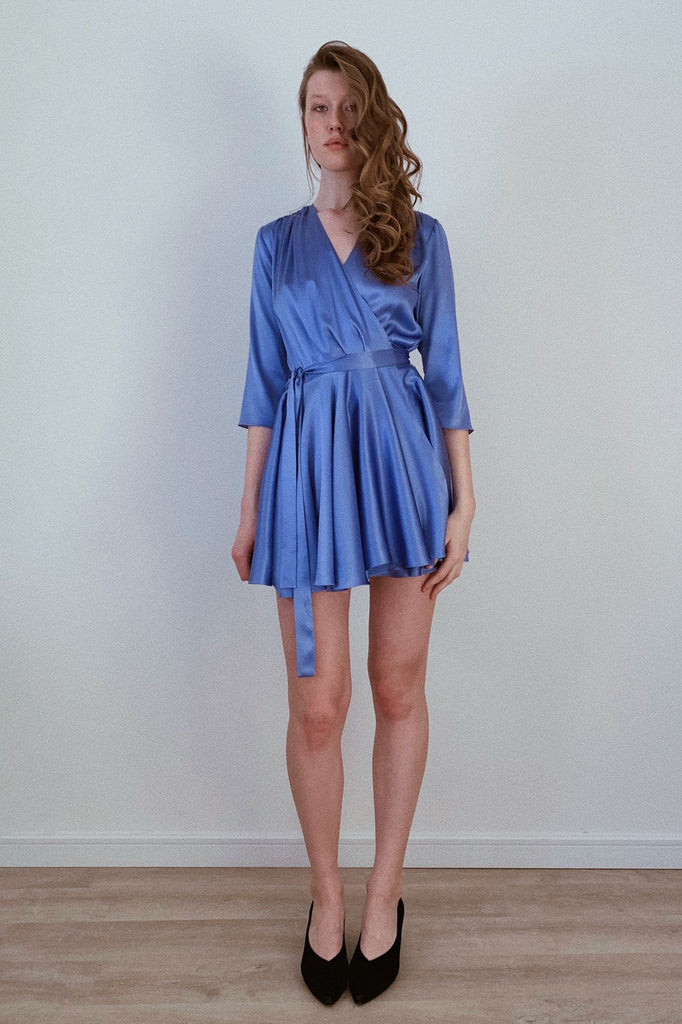 Kiss Of A Cloud Silk Dress Amoralle