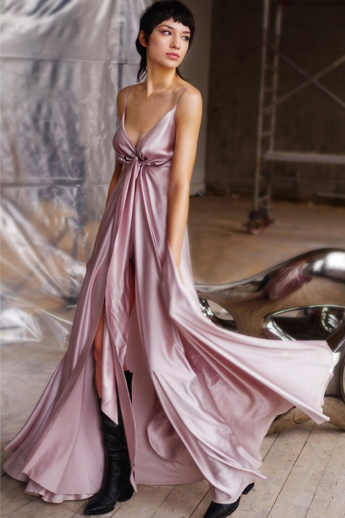 Starlight Love Silk Gown Amoralle