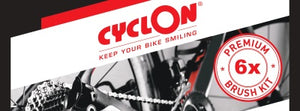 Cyclon Bike Care Premium Bike Brush Kit