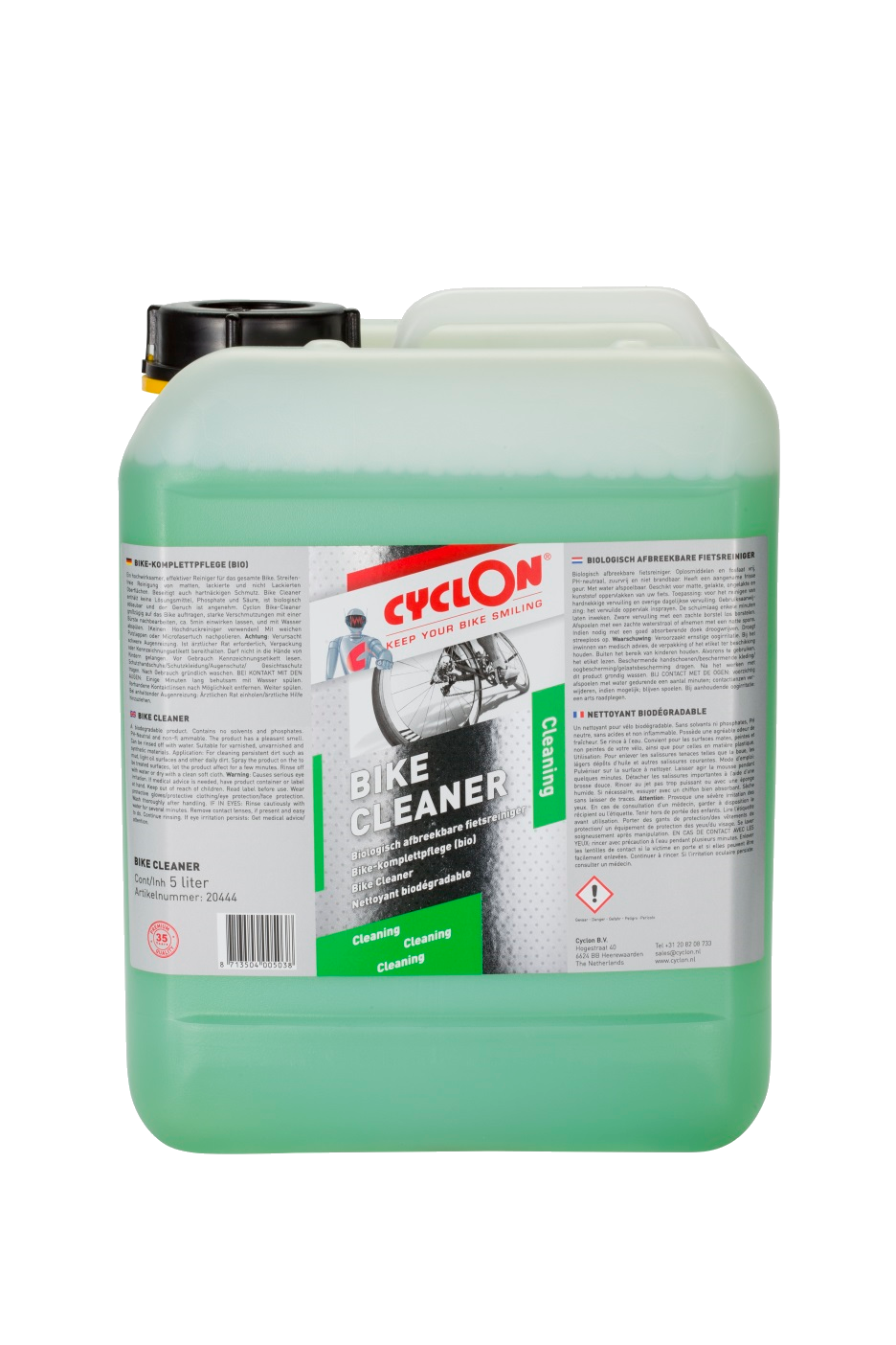 100% Biodegradable Bike Cleaner 5 litre Cyclon Bike Care