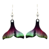 Forest of Lights Whale Tail Earrings