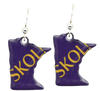 d'ears SKOL! Minnesota Earrings