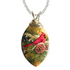 December Dawn Wired Leaf Necklace