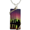 Birch Lake Rectangle Necklace