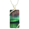 Border Patrol Rectangle Necklace