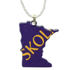 d'ears SKOL! Minnesota Necklace
