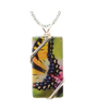 Yellow Swallowtail Necklace, 1.5