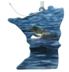 Loon MN  2 1/2 or  3 1/2 inch ornament