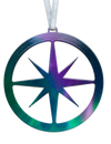Fire & Ice Compass 4 inch ornament