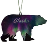 Alaska Fire and Ice Bear 4 inch ornament 8239AK