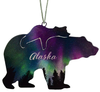 Alaska Fire and Ice Bear and Cub 4 inch ornament