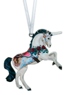 Carousel Unicorn 4 inch ornament