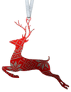 Christmas Sweater Reindeer 4 inch ornament