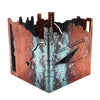 Patina & Copper Minneapolis Candle Box Holder 4.5""