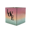 Love Ombre Tealight Holder 2.5""