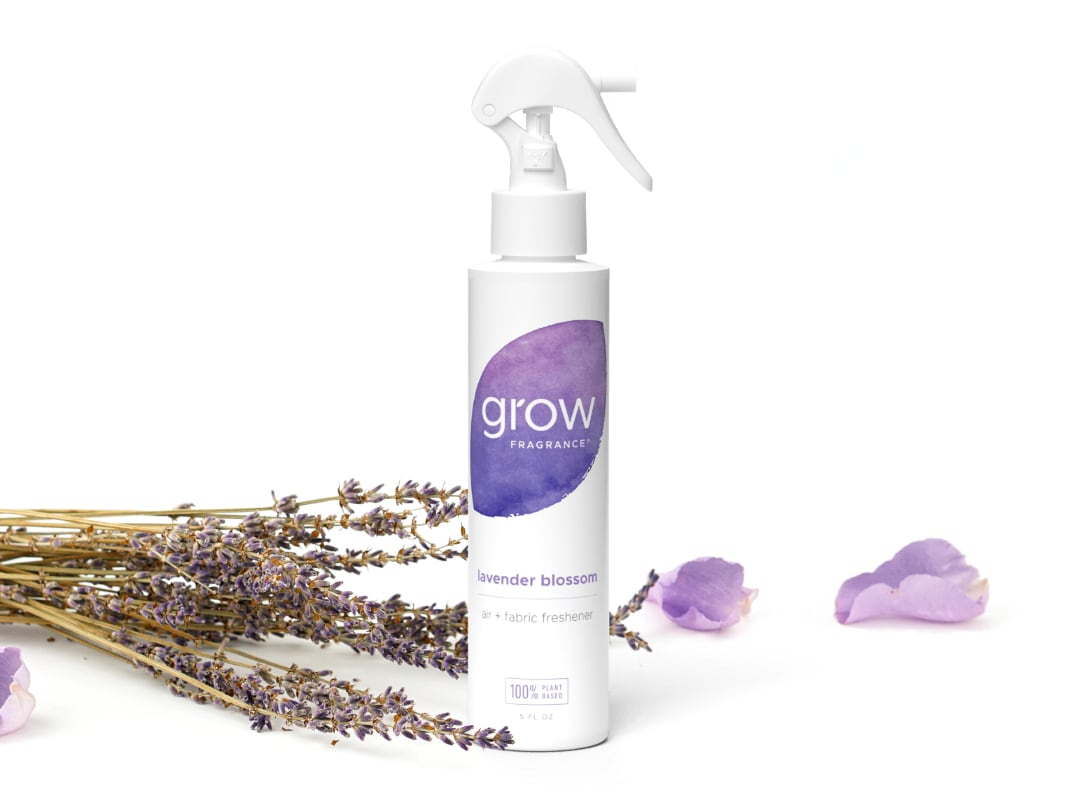 Lavender Blossom Air + Fabric Spray - Lavender Blossom has notes of lavender, peony and citrus.