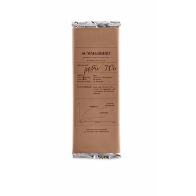 SUMMERBIRD ORGANIC-CHOCOLATE BAR PERU 71%