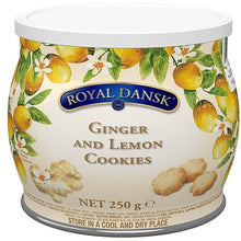 Royal Dansk-  GINGER AND LEMON COOKIES