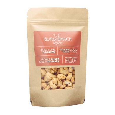 GURU SNACK ORGANIC-Chili / Lime Cashews