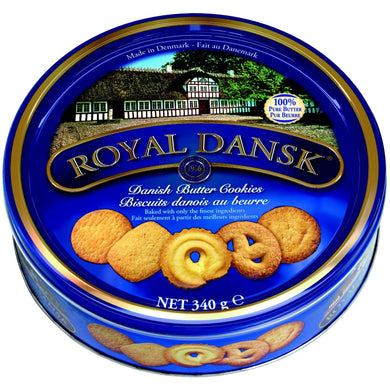 Royal Dansk-Danish Butter Cookies - 340 g.