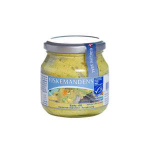 Fiskemandens curry herring 275g