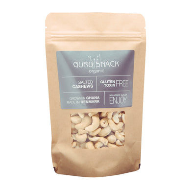 GURU SNACK ORGANIC-Salted Cashews
