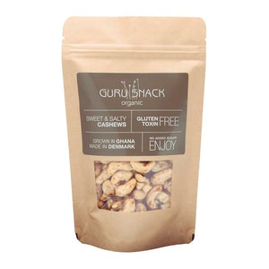 GURU SNACK ORGANIC-Sweet / Salty Cashews