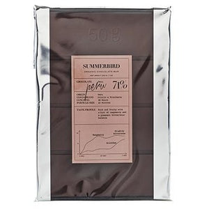 SUMMERBIRD ORGANIC PERU 71% CHOCOLATE BAR