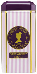 OSTERLANDSK 1889 COPENHAGEN -STRAWBERRY CREAM 30 PYRAMIDS TEA BAGS