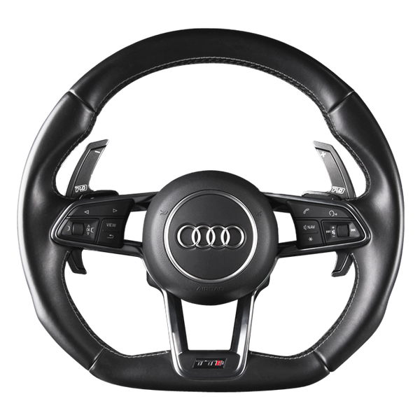 Leyo Motorsport Audi V4 Black Aluminium Paddle Shift Extensions