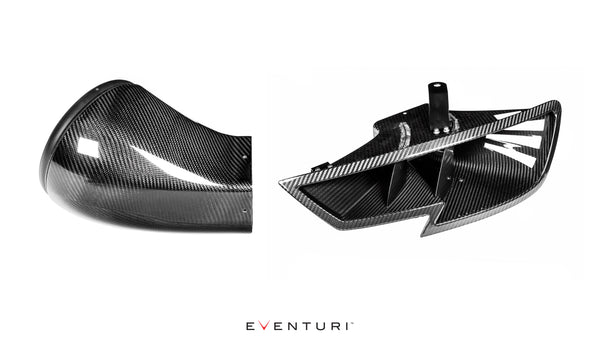 Eventuri Headlamp Duct for Audi RS3 8V
