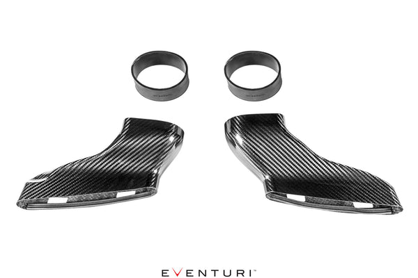 Eventuri Carbon Duct Upgrade Set for Mercedes C63 / C63S AMG Intake